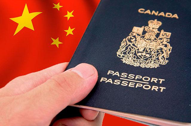 china-canada-visa-passport