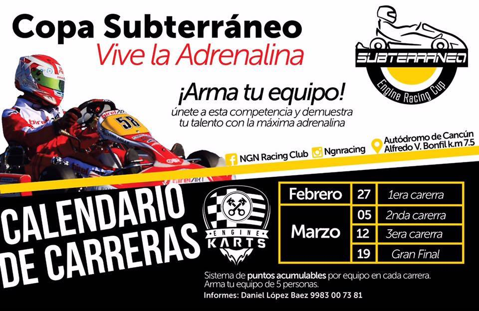 CARRERAS autodromo cancun