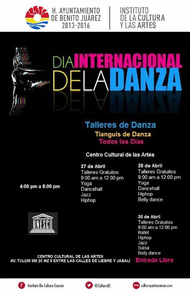 DANZA DIA INTERNACIONAL DE LA DANZA