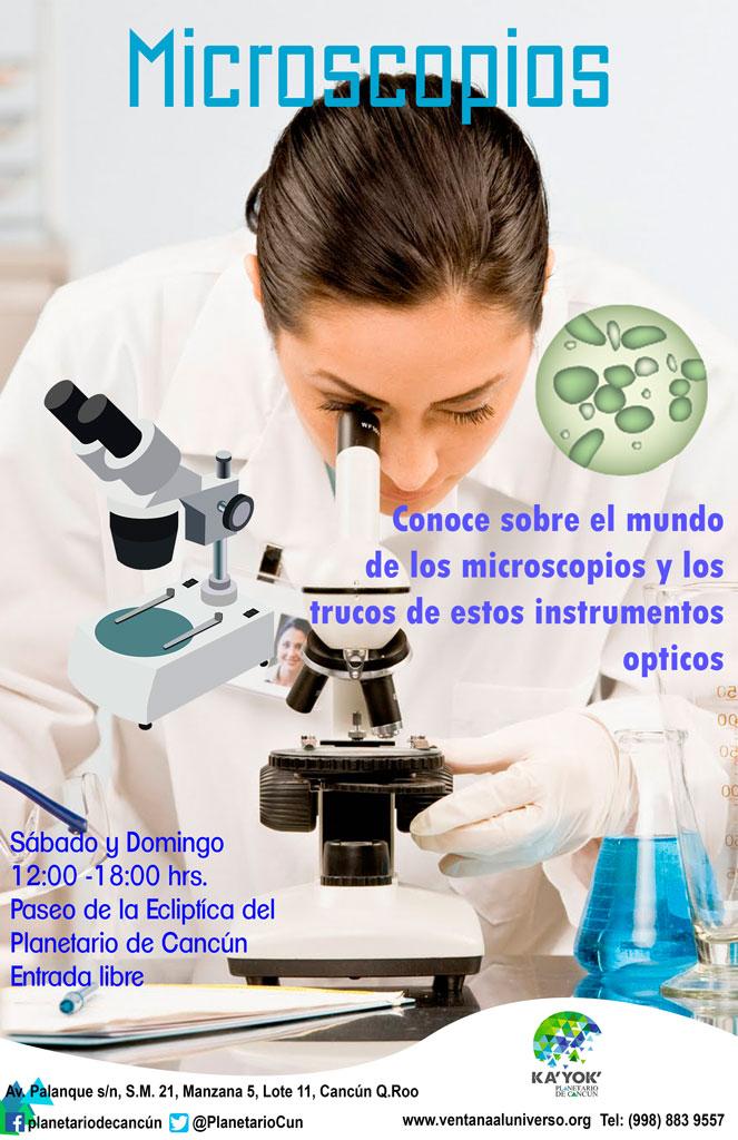 PLANETARIO Microscopios