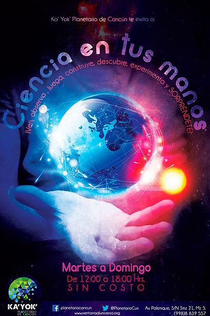 planetario ciencia en tus manos