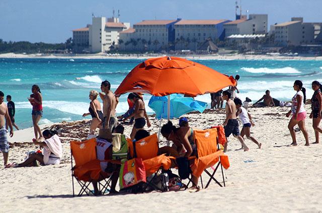 Playas listas para la temporada