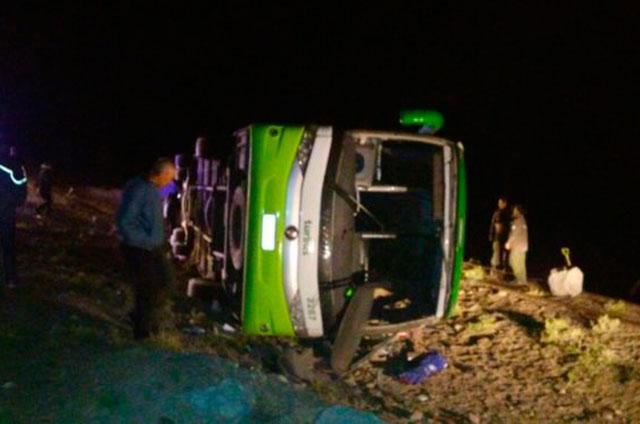 Tragedia en Los Andes: al menos 19 muertos y varios heridos por accidente de un bus que viajaba de Argentina a Chile